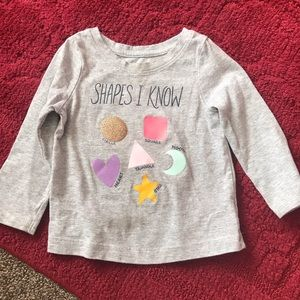 18 month old girls long sleeve